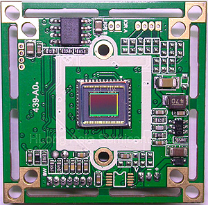 CCD chip /Charge-Coupled  Device/