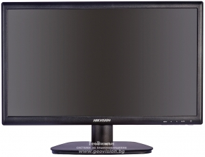 "Професионален монитор HIKVISION DS-D5027QE: размер на екрана 27"" - 68.6 см, резолюция FullHD 1920x1080 px, с LED backlight панел"