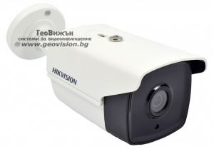 HD-TVI камера HIKVISION DS-2CE16C0T-IT3/CVBS: 1 мегапиксел 1280x720 px, 3.6 mm обектив